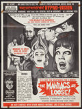 """Movie Posters:Horror, The Maniacs are Loose (Hollywood Star, 1964). Special Poster (21"""" X 27.75""""). Horror.. ..."""