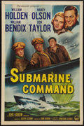 "Movie Posters:War, Submarine Command (Paramount, 1951). One Sheet (27"" X 41""). War....."