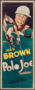 "Movie Posters:Comedy, Polo Joe (Warner Brothers, R-1940s). Insert (14"" X 36""). Comedy.. ..."