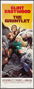 "Movie Posters:Action, The Gauntlet (Warner Brothers, 1977). Insert (14"" X 36""). Action....."