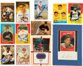Baseball Cards:Autographs, Misc. Sports Signed and Unsigned Cards Lot of 12....