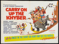 "Movie Posters:Comedy, Carry On Up the Khyber (Rank, 1968). British Quad (30"" X 40""). Comedy.. ..."