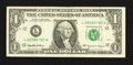 Error Notes:Major Errors, Fr. 1925-L $1 1999 Federal Reserve Note. Very Fine-Extremely Fine.....