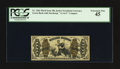 Fractional Currency:Third Issue, Fr. 1362 50¢ Third Issue Justice PCGS Extremely Fine 45.. ...