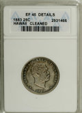 Coins of Hawaii: , 1883 25C Hawaii Quarter--Cleaned--ANACS. XF45 Details. NGC Census:(11/614). PCGS Population (25/1013). Mintage: 500,000. ...