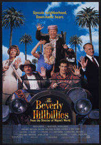 "The Beverly Hillbillies (20th Century-Fox, 1993). One Sheet (27"" X 40""). Comedy. Starring Jim Varney, Diedrich..."
