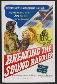 "Breaking the Sound Barrier (London Film, 1952). One Sheet (27"" X 41""). Action. Starring Ralph Richardson, Ann..."