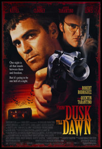 "From Dusk Till Dawn (Dimension Films, 1996). One Sheet (27"" X 41""). Horror. Starring George Clooney, Harvey Ke..."
