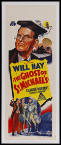 """Movie Posters:Comedy, The Ghost of St. Michael's (Associated British Picture Corporation, 1941). Australian Daybill (15"""" X 40""""). Comedy. Starring ..."""