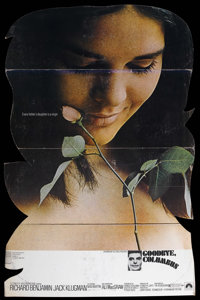 "Goodbye, Columbus (Paramount, 1969). Standee (38"" X 57""). Romantic Comedy. Directed by Larry Peerce. Starring..."