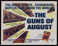 """Movie Posters:Documentary, The Guns of August (Universal, 1965). Half Sheet (22"""" X 28""""). Documentary. Narrated by Fritz Weaver. Directed by Nathan Krol..."""