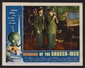 "Movie Posters:Science Fiction, Invasion of the Saucer-men (American International, 1957). LobbyCard (11"" X 14""). Science Fiction. Starring Steve Terrell, ..."