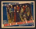 "Movie Posters:Adventure, Northwest Mounted Police (Paramount, 1940). Lobby Card (11"" X 14"").Adventure. Starring Gary Cooper, Madeleine Carroll, Paul..."