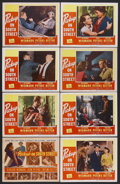 """Movie Posters:Film Noir, Pickup on South Street (20th Century Fox, 1953). Lobby Card Set of 8 (11"""" X 14""""). Richard Widmark and Jean Peters star in th... (Total: 8 Items)"""