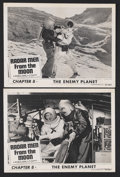 "Movie Posters:Serial, Radar Men from the Moon (Republic, 1952). Lobby Cards (2) (11"" X14"") Chapter 8 -- ""The Enemy Planet."" Sci-Fi Action. Starri...(Total: 2 Items)"
