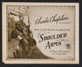 """Movie Posters:Comedy, Shoulder Arms (First National, 1918). Title Lobby Card (11"""" X 14"""").Comedy. Starring Charles Chaplin, Edna Purviance, Syd Ch..."""