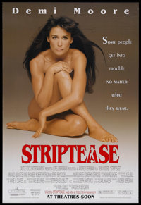 "Striptease (Castle Rock Entertainment, 1996). One Sheet (27"" X 41""). Comedy. Starring Demi Moore, Armand Assan..."
