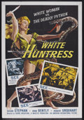 "Movie Posters:Adventure, White Huntress (AIP, 1957). One Sheet (27"" X 41""). Adventure.Starring Susan Stephen, Robert Urquhart, Alan Tarlton, Maureen..."
