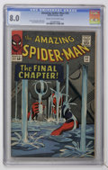 Silver Age (1956-1969):Superhero, The Amazing Spider-Man #33 (Marvel, 1966) CGC VF 8.0 Cream to off-white pages....