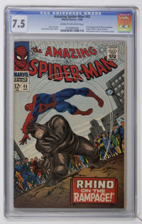 The Amazing Spider-Man #43 (Marvel, 1966) CGC VF- 7.5 Cream to off-white pages
