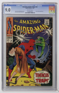 The Amazing Spider-Man #54 (Marvel, 1967) CGC VF/NM 9.0 Off-white pages