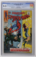 Silver Age (1956-1969):Superhero, The Amazing Spider-Man #59 (Marvel, 1968) CGC VF+ 8.5 Off-white pages....