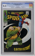 Silver Age (1956-1969):Superhero, The Amazing Spider-Man #60 (Marvel, 1968) CGC VF+ 8.5 Off-white pages....