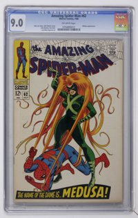 The Amazing Spider-Man #62 (Marvel, 1968) CGC VF/NM 9.0 Off-white pages