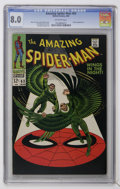 Silver Age (1956-1969):Superhero, The Amazing Spider-Man #63 (Marvel, 1968) CGC VF 8.0 Off-white pages....