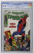 Silver Age (1956-1969):Superhero, The Amazing Spider-Man #68 (Marvel, 1969) CGC VF/NM 9.0 Off-white pages....