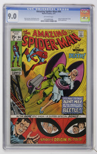 The Amazing Spider-Man #94 (Marvel, 1971) CGC VF/NM 9.0 Off-white pages
