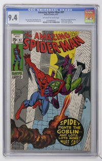 The Amazing Spider-Man #97 (Marvel, 1971) CGC NM 9.4 Off-white to white pages