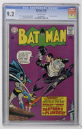 Silver Age (1956-1969):Superhero, Batman #169 (DC, 1965) CGC NM- 9.2 Off-white pages....