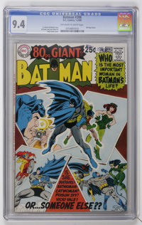 Batman #208 (DC, 1969) CGC NM 9.4 Off-white to white pages