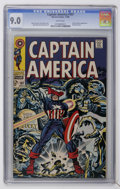 Silver Age (1956-1969):Superhero, Captain America #107 (Marvel, 1968) CGC VF/NM 9.0 White pages....
