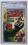 Silver Age (1956-1969):Superhero, Captain America #115 (Marvel, 1969) CGC NM 9.4 Off-white pages....