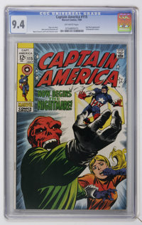 Captain America #115 (Marvel, 1969) CGC NM 9.4 Off-white pages
