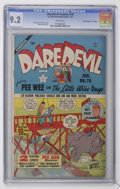 "Golden Age (1938-1955):Superhero, Daredevil Comics #70 Davis Crippen (""D"" Copy) pedigree (Lev Gleason, 1951) CGC NM- 9.2 White pages...."