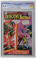 Silver Age (1956-1969):Superhero, Detective Comics #361 (DC, 1967) CGC VF/NM 9.0 Off-white to white pages....