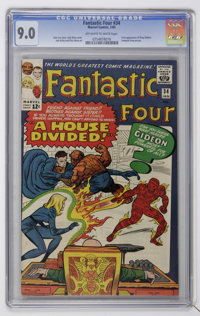Fantastic Four #34 (Marvel, 1965) CGC VF/NM 9.0 Off-white to white pages