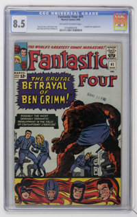 Fantastic Four #41 (Marvel, 1965) CGC VF+ 8.5 Off-white to white pages