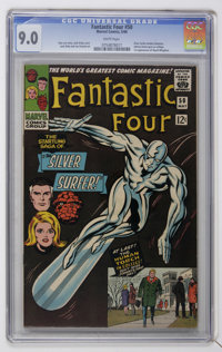 Fantastic Four #50 (Marvel, 1966) CGC VF/NM 9.0 White pages