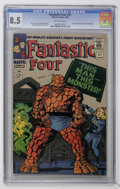 Silver Age (1956-1969):Superhero, Fantastic Four #51 (Marvel, 1966) CGC VF+ 8.5 Off-white pages....