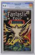 Silver Age (1956-1969):Superhero, Fantastic Four #53 (Marvel, 1966) CGC VF/NM 9.0 Off-white to white pages....