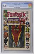 Silver Age (1956-1969):Superhero, Fantastic Four #54 (Marvel, 1966) CGC NM- 9.2 Off-white pages....