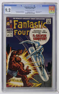 Fantastic Four #55 (Marvel, 1966) CGC NM- 9.2 Off-white to white pages