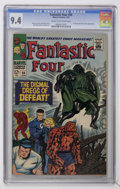 Silver Age (1956-1969):Superhero, Fantastic Four #58 (Marvel, 1967) CGC NM 9.4 Cream to of-white pages....