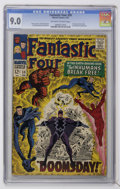 Silver Age (1956-1969):Superhero, Fantastic Four #59 (Marvel, 1967) CGC VF/NM 9.0 Off-white to white pages....