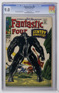 Silver Age (1956-1969):Superhero, Fantastic Four #64 (Marvel, 1967) CGC VF/NM 9.0 Off-white to white pages....