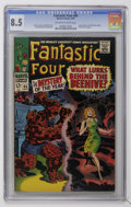 Silver Age (1956-1969):Superhero, Fantastic Four #66 (Marvel, 1967) CGC VF+ 8.5 Off-white to white pages....